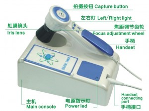 B_DM9988U iriscope iridology camera for pc